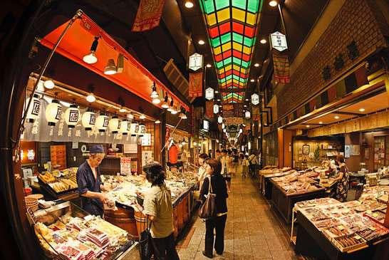 Nishiki-Market-tempat-wisata-kuliner-di-kyoto-jepang