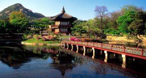 Hyangwon Pavilion Di Korea