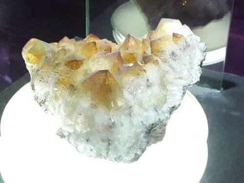 Ilustrasi salah satu batu akik koleksi Museum Geologi Bandung (foto : detikTravel)