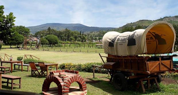Ilustrasi tempat wisata ala koboi di De'Ranch Lembang, Bandung (foto : travel.detik.com)
