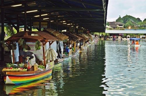 Ilustrasi lokasi Floating Market Lembang Bandung (foto : sheratonbandung.com)