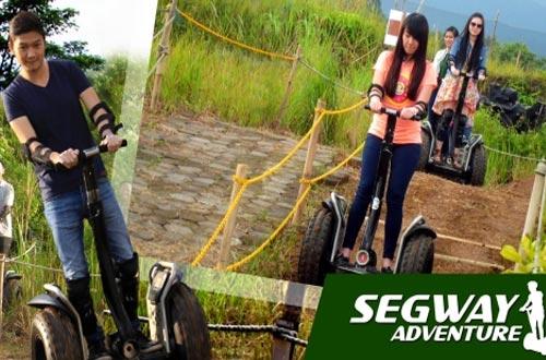 Ilustrasi wahana Segwey Adventure Di Kampung Gajah Bandung (foto : kampunggajah.com)