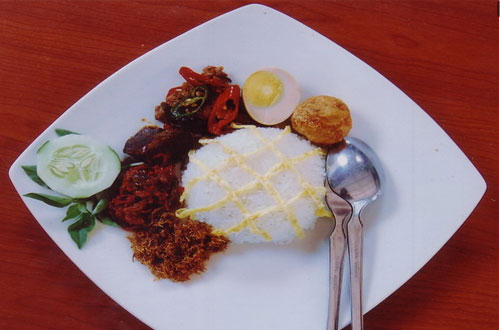 Ilustrasi salah satu menu makanan di Selasih Restoran, tempat makan di bandung yang enak dan murah (foto : selasihresto.com)