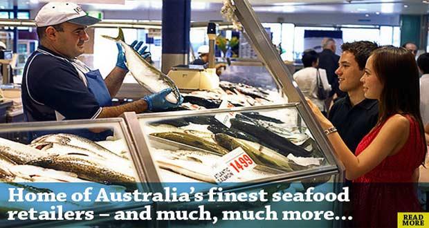 Ilustrasi wisatawan membeli ikan di Sydney Fish Market (foto : sydneyfishmarket.com.au)