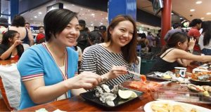 Ilustrasi Sydney Fish Market, tempat wisata di Australia khusus ikan dan seafood (foto : restaurant.australia.com)
