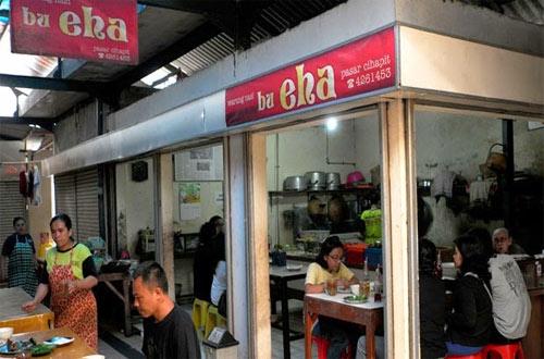 Ilustrasi warung Bu Eha, tempat makan murah di Bandung (foto : tempo.co)