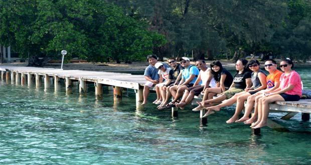 Pulau Bira, tempat wisata di Kepulauan Seribu favorit wisatawan (foto : dutapulauseribu.com)