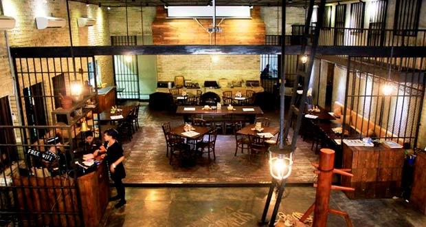 Bong Kopitown adalah salah satu tempat wisata kuliner di Jogja yang wajib dikunjungi (Foto : koranjitu.com)