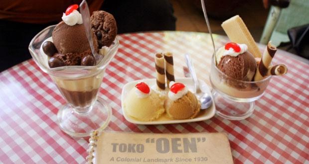 Es krim Toko Oen adalah salah satu es krim paling enak di Indonesia yang legendaris (Foto : anekatempatwisata.com)