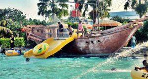 Grand Puri Waterpark adalah salah satu waterboom di Jogja yang wajib dikunjungi (Foto : telusurindonesia.com)