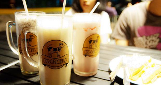 Kalimilk Yogyakarta adalah salah satu tempat wisata kuliner di Jogja yang wajib dikunjungi (Foto : indonesian-lifestyle.blogspot.com)