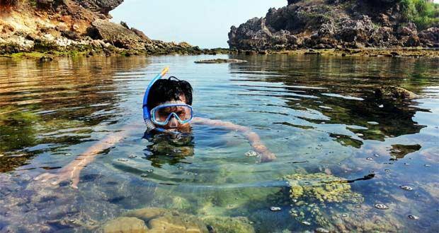 Pantai Di Jogja Untuk Snorkeling : Nglambor - Sadranan