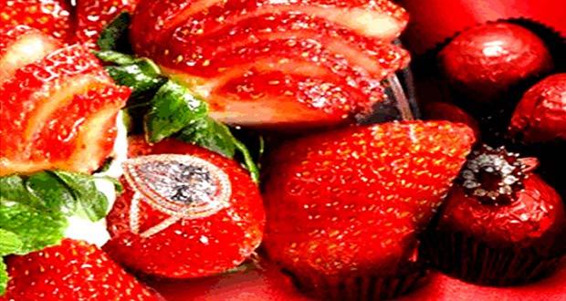 Strawberries Arnaud adalah salah satu es krim termahal di dunia (Foto : buro247.com)