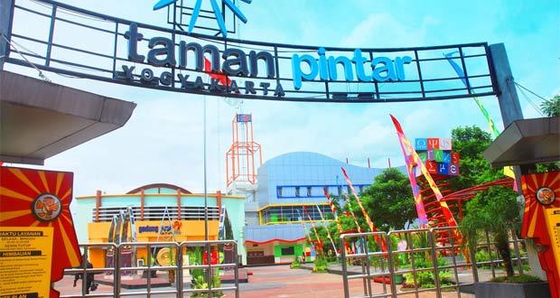 Taman Pintar adalah salah satu tempat wisata di Jogja untuk anak yang seru dan asyik untuk belajar sains (Foto : detakjogja.com)