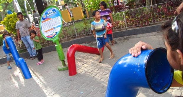 Taman Pintar adalah salah satu tempat wisata di Jogja dekat Malioboro (Foto : wisatafamily.blogspot.com)