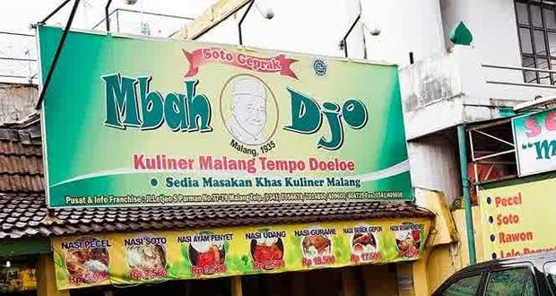 Soto & Bakso Geprak Mbah Djo adalah salah satu tempat makan enak di Malang untuk buka puasa menu andalan bakso (Foto : foodgrapher.com)