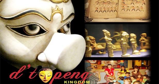 D'Topeng Museum adalah salah satu tempat wisata di Malang dan sekitarnya yang menyajikan aneka topeng yang unik dan keren (Foto : malangcity.com)