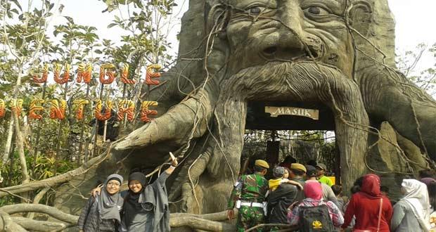 Eco Green Park adalah salah satu tempat wisata di Malang dan sekitarnya yang menawarkan ekosistem dan lingkungan buatan (Foto : fsadam.wordpress.com)