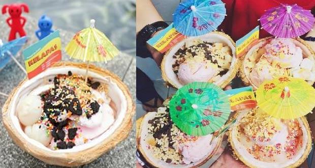 Kelapas adalah tempat makan es krim di Jakarta yang paling enak (Foto : instagram kelapas)