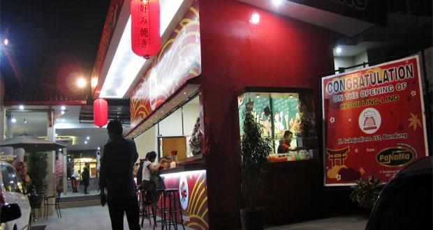 Kedai Lingling adalah salah satu tempat makan enak di Bandung untuk buka puasa yang menyajikan menu khas Jepang (Foto : duniaicip-icip.blogspot.com)