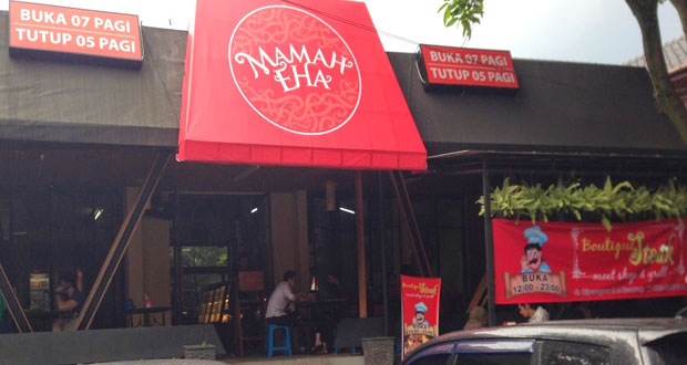 Kedai Mamah Eha adalah salah satu tempat makan enak di Bandung yang cocok untuk buka puasa bersama (Foto : xplor.xl.co.id)