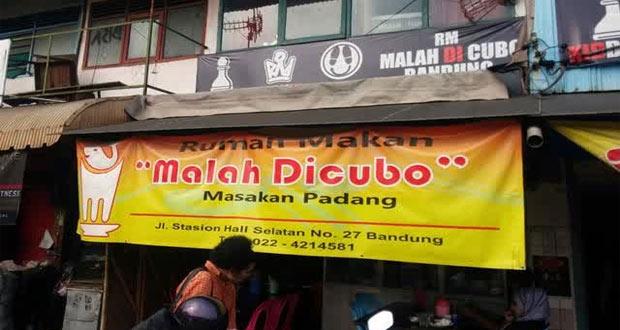 Malah Dicubo adalah salah satu tempat makan enak di Bandung untuk buka puasa yang murah meriah (foto : mediaparahyangan.com)