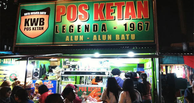 Pos Ketan Legenda adalah salah satu tempat wisata di Malang dan sekitarnya yang pas untuk menikmati kuliner ketan khas Malang (Foto : rizqi.nizamilputra.com)
