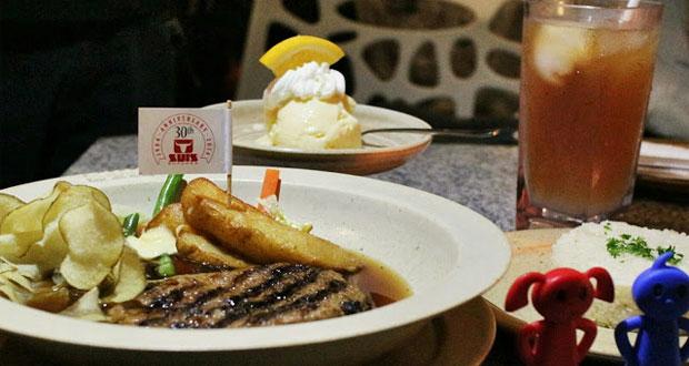 Suis Butcher adalah salah satu tempat makan enak di Bandung untuk buka puasa yang cocok buat penggemar steak (Foto : letsgoeatall.blogspot.com)