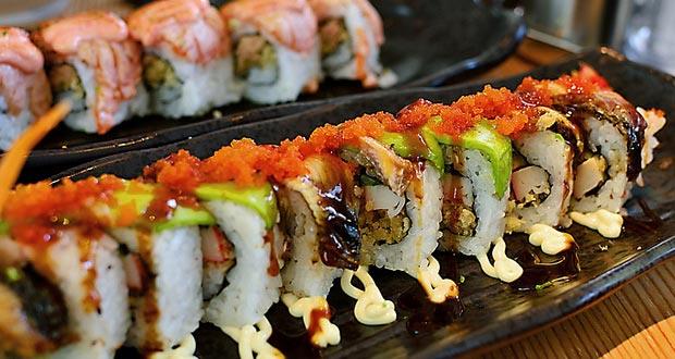 Ilustrasi menu di Sushi Tei yang buka cabang di Bandung dan terkenal sebagai salah satu tempat makan enak di Bandung untuk buka puasa yang pas buat Anda penggemar sushi (Foto : gumibali.com)
