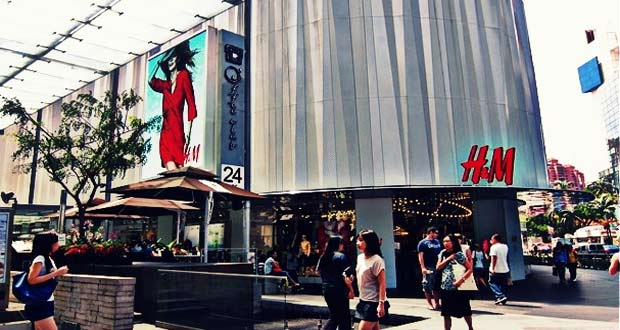 Tempat Belanja Di Singapore H & M