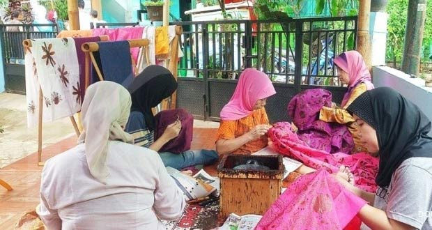 Kampung Batik Betawi Terogong Adalah Salah Satu Tempat Wisata Di Jakarta Yang Asyik Dan Menarik Untuk