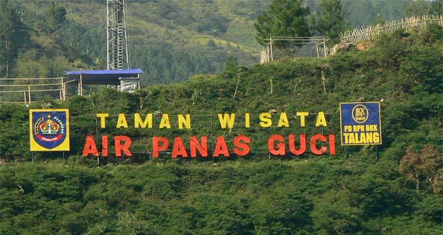 Tempat wisata di Tegal Pemandian Air Panas Guci (Foto : adventureriderscommunity.wordpress.com)