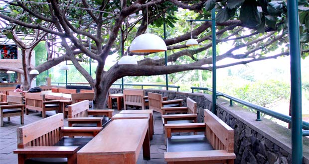 Tempat nongkrong di Bandung Selasar Sunaryo Art Space (Foto : gastronomy-aficionado.com)