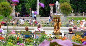 Tempat Wisata Di Paris Taman Jardin Luxemborg Yang Romantis