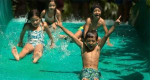 Kiddy Slide di Waterbom Bali
