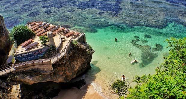Pantai Blue Point atau Suluban