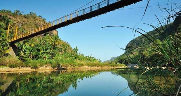 Jembatan Gantung Desa Kedung Miri