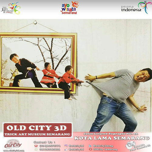 Old City 3D Trick Art Museum