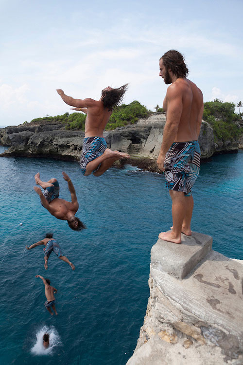 Cliff Jump Point Nusa Ceningan