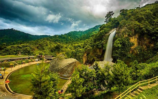 Curug Bidadari Sentul Paradise Park Bogor