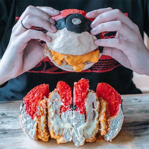 Pokeball Burger