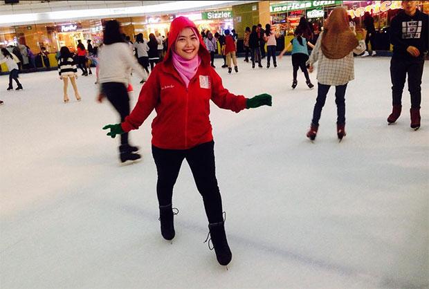 Ice Skating Sky Rink Mall Taman Anggrek