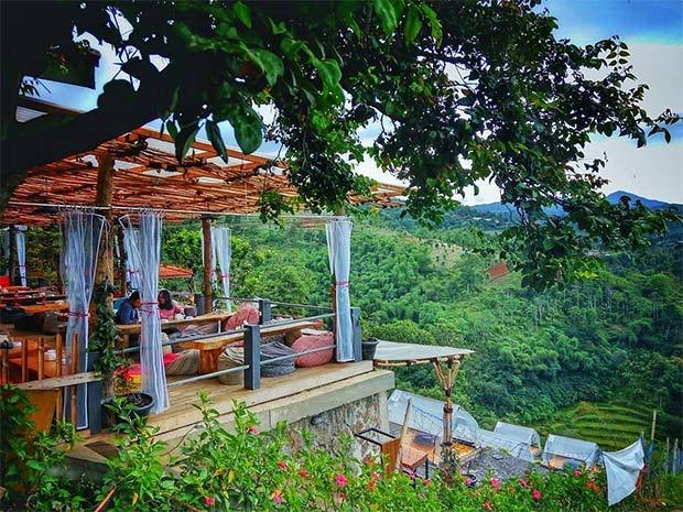 Lereng Anteng Panoramic Coffee Place Punclut